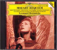 Leonard BERNSTEIN: MOZART REQUIEM Marie McMaughlin Maria Ewing Jerry Handley CD