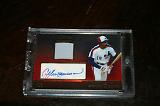 2013 Topps Tribute RED REFRACTOR Andre Dawson HOF Jersey Auto 1/1