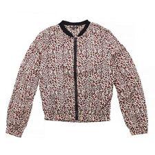 Leopard Knee Length Coats & Jackets for Women