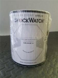 SHOCKWATCH MONITORED SHIPMENT DAMAGE INDICATOR LABELS (sealed 200 labels/roll)
