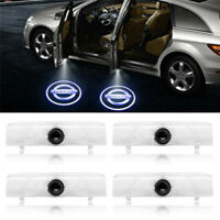 4 X LED Car Door Light Logo Courtesy Projector Light For Nissan Altima Coupe