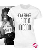 Cotton Unicorn Petite T-Shirts for Women