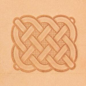 Ivan 3D Leather Stamp - Celtic Weave (8605-00)