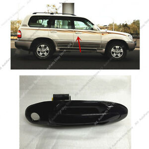 For 98-07 Land Cruiser LC100 Lexus LX470 RIGHT FRONT Black Door Outside Handle k