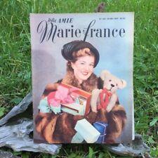 Votre Amie Marie France N°162 - 30 Décembre 1947- Ancien Magazine Français