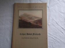 Die silbernen Bücher - Caspar David Friedrich - Landschaften - 1. Aufl 1942 /S70