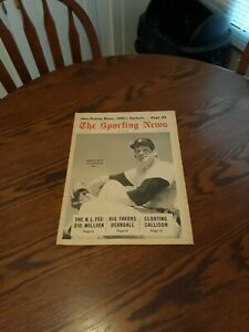 MAY 18,1968-THE SPORTING NEWS-MICKEY LOLICH OF THE DETROIT TIGERS(MINT)