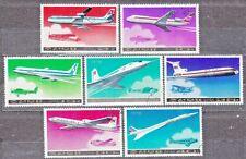 KOREA Pn. 1978 USED SC#1743/49 set, Passenger Aircraft.
