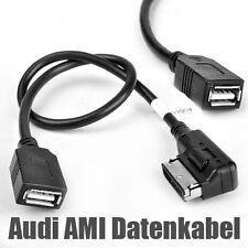 Schwarz Lange Lebensdauer USB für Audi Plug & Play kompatibel mit allen USB Audi