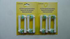 Zahnbürstenaufsatz Precision Clean G kompatibel zu Oral B 8 Stück