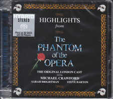 """Highlights from The Phantom of the Opera"" Limited Numbered Hybrid SACD CD New"