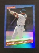 Tony Gwynn 2020 Donruss 1986 Retro Holo BLUE & Nickname #218  SD Padres HOF