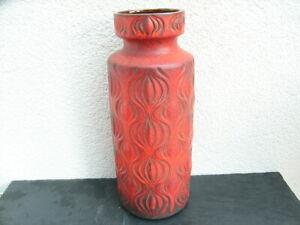 Fat Lava Scheurich Bodenvase 285-40, 70er Jahre, Keramik, SEHR SCHÖN !!