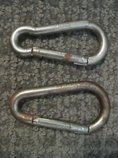 2 Vintage Steel Mini Carabiners from Italy-Rock Climbing Gear