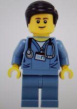 Retired LEGO Mini-Figure Dr. McScrubs Doctor Surgeon Nurse