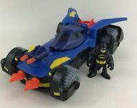 Imaginext DC Super Friends Deluxe Batmobile Fisher Price Batman Vehicle Toy Lot
