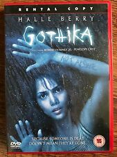 Halle Bacca Robert Downey Jr GOTHIKA ~ 2003 Dark Psicologico Thriller UK DVD