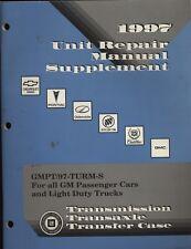 1997 GM Original Factory Service Manual for Cars & light Trucks~ GMPT/97-TURM-S