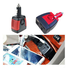 150W Power Charger DC 12V to 110V/220V AC Car Inverter USB Port For iPhone Red
