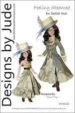 Feeling Steamed Steampunk Doll Clothes Sewing Pattern Delilah Noir Ashton Drake