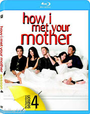 NEW How I Met Your Mother Complete Season 4 Four Fourth 4th DVD Blu-Ray Disc
