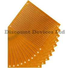 10x 50x70mm 1.2mm solo lado de Baquelita cobre prototipo PCB placa de matriz