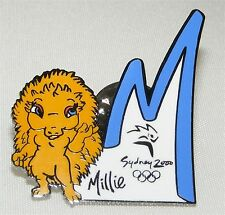 SYDNEY 2000 Olympic Collectible Logo Pin - M Is For Millie the Mascot