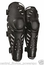 Fox Racing Titan Pro Hinged Knee / Shin Guards Black ONE SIZE 04266-001-OS