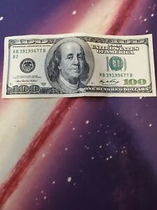 1996 - 2006  100$ dollar Bill (Rare)