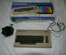 VINTAGE COMMODORE 64 MK1 COMPUTER SYSTEM - Boxed & Tested - Made in England
