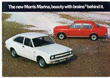 Morris Marina Series 1 1971-73 UK Market Sales Brochure De Luxe Super TC