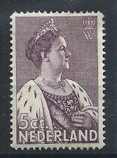 Pays-Bas N°263* (MH) 1934 - Reine Wilhelmine
