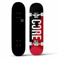 CORE Complete Skateboard C2 Split - Red/Black 7.75