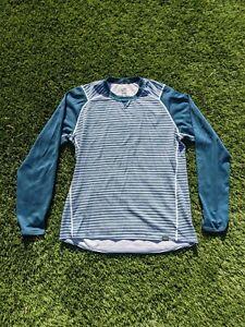 Patagonia Men's Large Capilene 3 Long Sleeve Shirt Striped Base Layer