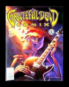 GRATEFUL DEAD COMIX #1, 1991, FIRST EDITION, KITCHEN SINK, MAGAZINE SIZE UNDERGR