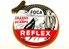 Italian Reflex Seal Shoe Polish Tin 1950s
