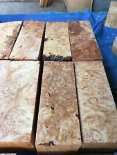 Maple Burl turning Blanks/burr/exotic Woods/ high Figure/ Kiln dried REDUCED !