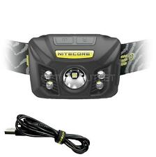 Nitecore NU30 400 Lumen White, Red & CRI LED Rechargeable Headlamp - Black
