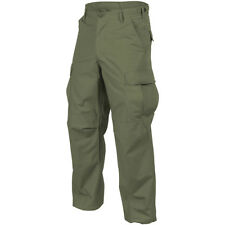 HELIKON-TEX GENUINE BDU MILITARY COMBAT PANTS ARMY COTTON TROUSERS OLIVE GREEN