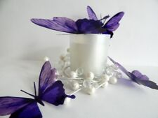 3d Purple butterfly stickers,Wedding decorations