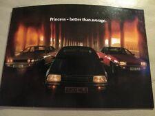 Austin Princess Car Brochure - June 1979