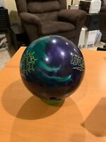 Storm Big Hit Bowling Ball 🎳 10LB Pearl Teal/Purple EXCELLENT CONDITION