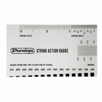 Dunlop System 65 String Action Gauge Tool, inches & mms, DGT04