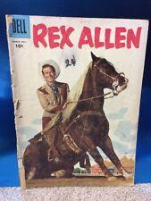 Rex Allen #20 Silver Age 1956 Dell Publishing Western Comic Book