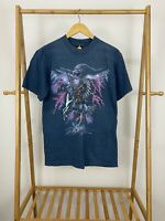 VTG HL Miller Gold Thunder Eagle Native American Chief Horse T-Shirt Size M USA