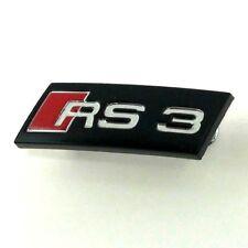 Genuine Audi RS3   A3 8P steering wheel OEM badge logo emblem 8P0419685.     RS3