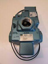 MAC VALVE 57B-12-112AA WITH SOLENOID 120 VOLTS AC 24 VDC  250B-112AAAA
