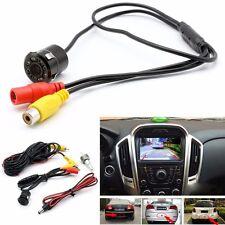 Car Reversing Rear View IR Camera Parking Backup Night Vision 8LED Waterproof UK