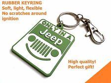 Jeep keyring Grand Cherokee Wrangler Compass  CJ JK TJ YJ XJ FG rubber grill