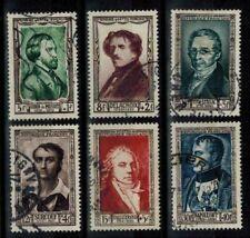 (b47) timbres France n° 891/896 oblitérés année 1951